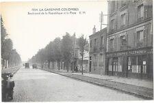 LA GARENNE COLOMBES (92) Boulevard de la République façade du bureau de Poste