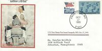 VINTAGE First Day of Issue US postage Norman Rockwell - Tattoo Artist