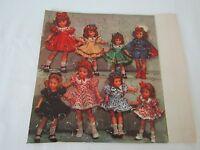 Vintage Madame Alexander Doll Friends Jigsaw Puzzle