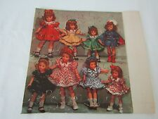 Vintage Effanbee Little Lady Doll Friends Jigsaw Puzzle