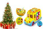 Interactive Toy School Bus Yellow 12m+ Sounds Baby Gift Christmas Present
