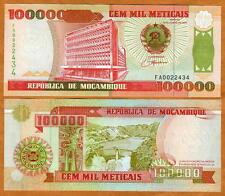 Mozambique, 100000 (100,000) meticais, 1993, P-139, UNC