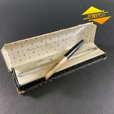 """VINTAGE c.1950's PARKER 17 """"LADY"""" FOUNTAIN PEN BOXED 12ct ROLLED GOLD CAP"""