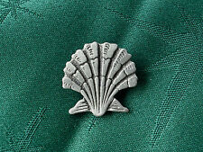 Seashell Button, Handcrafted in Fine Lead-Free Pewter