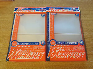 KMC Card Barrier Deck Protectors - Standard Size Sleeves 91x66mm 2 x 80 (160)