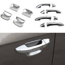 FITFOR VW PASSAT 11-14 B7 06-10 B6 CC CHROME 2IN1 DOOR HANDLE COVER + BOWL TRIM