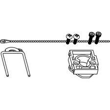 KMC HPO-5074 - Kit; Ball Valve to Actuator Mounting Quick-Mount - Actuator