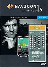 NAVIGON 5,2 Mobile Navigator für Pocket PC von Navigon | Software | Zustand gut