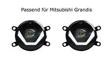 LED Nebelscheinwerfer + Tagfahrlicht Black Cree Chip Mitsubishi Grandis LSW4