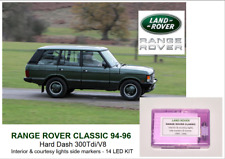 RANGE ROVER CLASSIC 94-96 Soft Dash interior 14 bulbs LED KIT