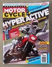 Motorcycle News AMCN June 2007 - YAMAHA WR 450 DAYTONA 675 APRILIA DUCATI R6 CBR