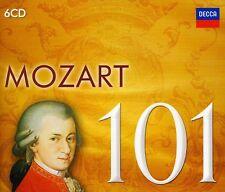 Mozart 101 - 6 DISC SET - Mozart 101 (2016, CD NEUF)