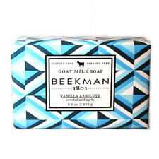 Beekman 1802 VANILLA ABSOLUTE Goat Milk Soap FULL SIZE 9 oz Bar FREE SHIPPING!