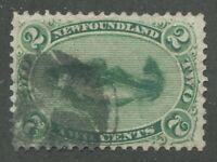 NEWFOUNDLAND #24a USED VF