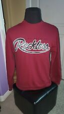 NWOT MEN'S YOUNG AND RECKLESS MAROON SMALL SWEATER PULLOVER