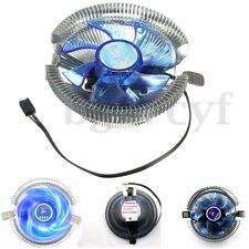 LED CPU Cooler Quiet Fan Heatsink for Intel LGA775 1155/1156 AMD754 AM2 2+ AM3