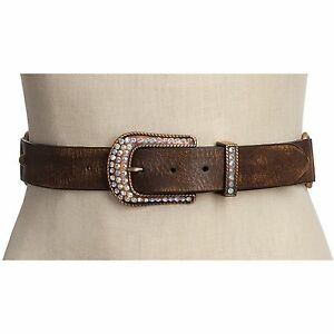 Roper Braided Leather Belt (For Women) Size S