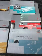 AUDI A4 S4 HANDBOOK OWNERS MANUAL WALLET 1997-2002 PACK 14503 Service History