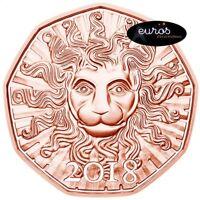Pièce 5 euros commémorative AUTRICHE 2018 - Le Nouvel An - UNC, Cuivre 999/1000