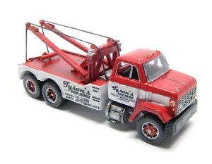 N Scale 70's GMC Holmes Wrecker(Short Hood) Truck Kit by Showcase Miniatures(91)