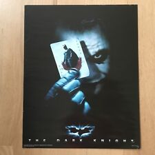 "ORIGINAL THE DARK KNIGHT JOKER BATMAN POSTER 16"" X 20"" RARE VINTAGE DC COMICS"