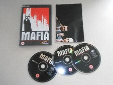 MAFIA 1 ( GANGSTER GAME ) RARE ORIGINAL RELEASE - PC CD GAME INC MAP / POSTER