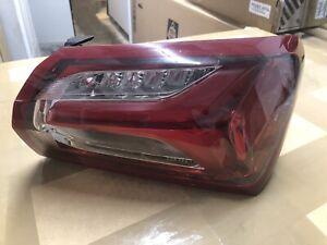 2019 2020 2021 Chevy Malibu LED Tail Light OEM Factory outer passenger side RH