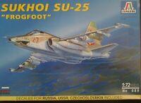 "Italeri 089 Sukhoi Su-25 ""Frogfoot"" 1:72 Neu, Bauteile versiegelt"