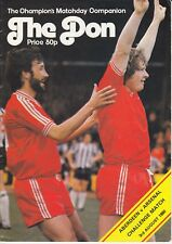 Aberdeen v Arsenal 3 Aug 1980