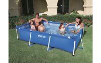 ntex -  Frame Pool Family rechteckig (260 x 160 x 65 cm) + Filterpumpe+28271