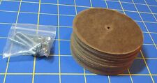 """For Jointed Teddy Bear = 10 – 3"""" Hard Board Discs – with Tap Bolt Set"""