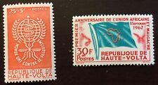 1962 UPPER VOLTA MNH Malaria Education & African States