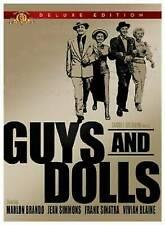 MARLON BRANDO, FRANK SINATRA Guys and Dolls DVD, 2006, Deluxe Edition WIDESCREEN