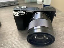 INFRARED Sony Alpha A6000 24.3MP Digital Camera with 50mm lens