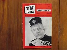 March 23, 1956 Indianapolis TV News Magazine(CAPTAIN  KANGAROO/GUY  LOMBARDO)