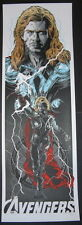 Thor The God of Thunder The Avengers Movie Poster Print Rhys Cooper 2012