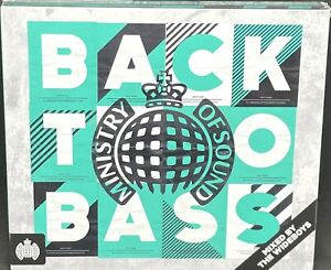 MINISTRY OF SOUND - BACK TO BASS, VARIOUS, TRIPLE CD ALBUM, (2016)*NEW / SEALED*