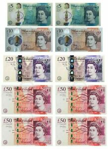 £50/20/10/5 Notes printed on Edible Icing sheet, cake toppers