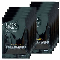 Pilaten blackhead remover,deep cleansing black mud mask, acne pore peel off MT