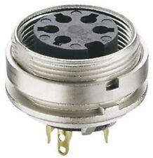 Lumberg KGV Series, 6 Pole Din Socket Socket, DIN EN 60529, 5A, 250 V ac IP40