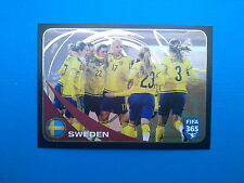 PANINI FIFA 365 2016-17 2017 n.291 Team Sweden FIFA/Coca Cola Women's World