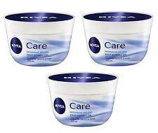 (29,33€/L) 3x 200ml Nivea Soins Intensifs Soin Crème Visage & Corps 3er