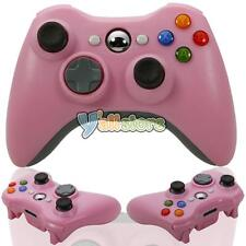 Wireless Game Controller Gamepad Joystick for Microsoft Xbox 360 Console Pink