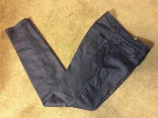 EUC $196 JOE'S JEANS blue iridescent SAPPHIRE skinny ankle leg jeans 24