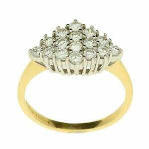 18ct Yellow Gold Diamond Ring - 0.48ct