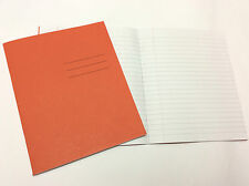2 X Exercise Writing Note Book 40 Sheets 80 Pages A5 Feint Ruled Margin 8MM