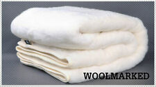 Unterbett Matratzen- Bettauflage Schonbezug Aus 100% Merinowolle 140/200CM