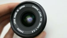 Canon FD Wide Angle 28mm F2.8 Canon FD Mount Lens For SLR/Mirrorless Cameras