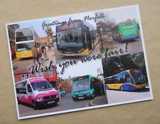NORFOLK CONCESSIONARY BUSES SCHEME SUPPORT CAMPAIGN POST CARD