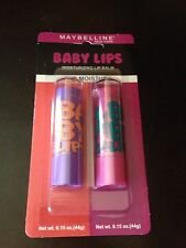 NIP Maybelline Baby Lips Limited Edition 2 Pack Ruby Star 170 + Peach Kiss 30